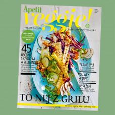Časopis Apetit Veggie 1/2018 Zelenina z grilu