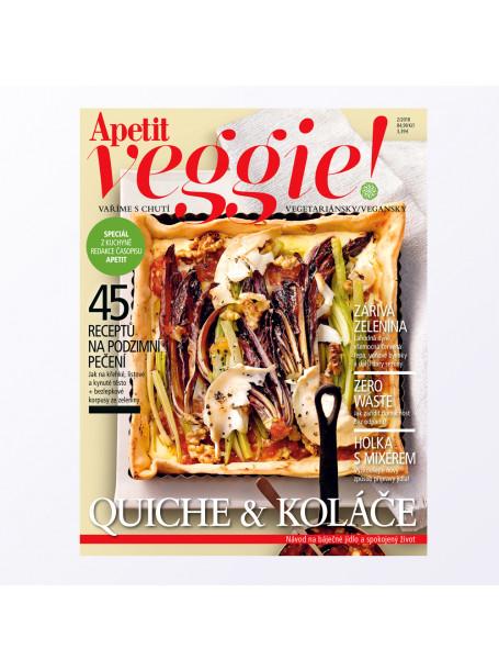Časopis Apetit Veggie 2/2018 Koláče a quiche